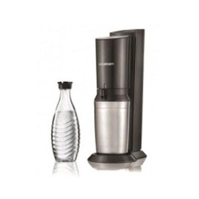 Machine à soda et eau gazeuse CRYSTAL NOIR Machine à soda et eau gazeuse CRYSTAL NOIR SODASTREAM