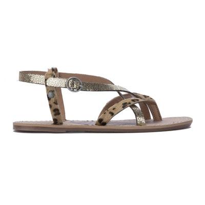 Malibu Leo Leather Sandals Malibu Leo Leather Sandals PEPE JEANS