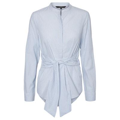 Tie-Waist Cotton Shirt VERO MODA