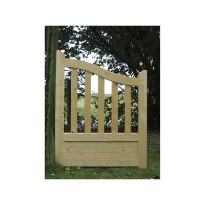 "Portillon jardin bois ""Gand"" - 1 x 1.30 x 1.10m Portillon jardin bois ""Gand"" - 1 x 1.30 x 1.10m HABITAT ET JARDIN"