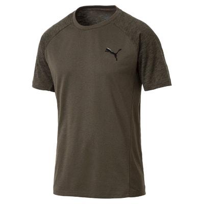 T-shirt scollo rotondo maniche corte PUMA