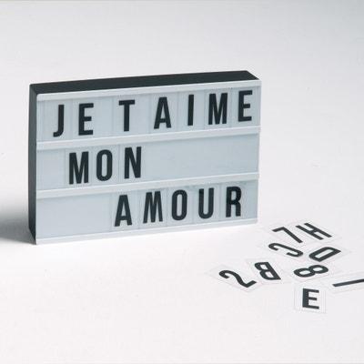 Коробка светящаяся с персональным именем, Xaya Коробка светящаяся с персональным именем, Xaya La Redoute Interieurs