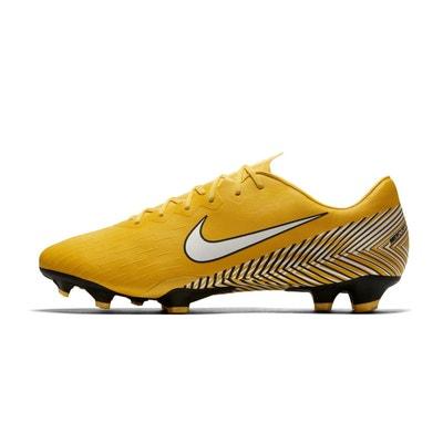 Chaussures football Nike Mercurial Vapor XII Pro Neymar FG Jaune Chaussures  football Nike Mercurial Vapor XII ce7b96eeddf1