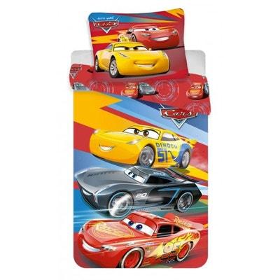 Cars Disney Trio - Parure de Lit Enfant - Housse de Couette Coton Cars Disney Trio - Parure de Lit Enfant - Housse de Couette Coton DISNEY CARS