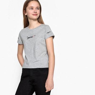 T-shirt brodé 10-16 ans La Redoute Collections