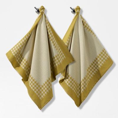 Komplet 2 ściereczek żakardowych 100% bawełny Komplet 2 ściereczek żakardowych 100% bawełny La Redoute Interieurs