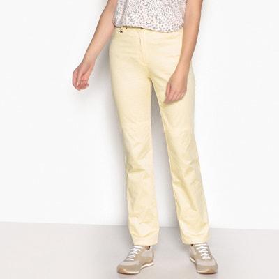 Proste spodnie z niskim stanem ANNE WEYBURN