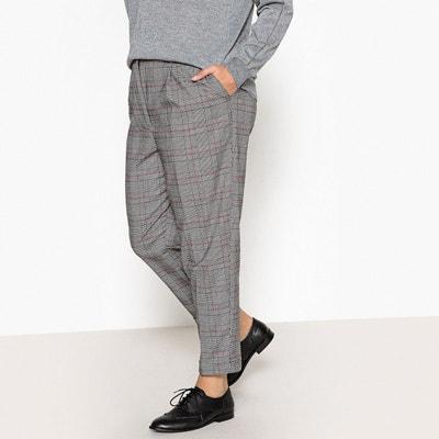 Pantalon droit à carreaux Prince de Galles CASTALUNA