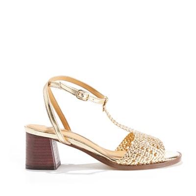 Sandales à bout ouvert en cuir LIZANNE Sandales à bout ouvert en cuir LIZANNE ANONYMOUS COPENHAGEN