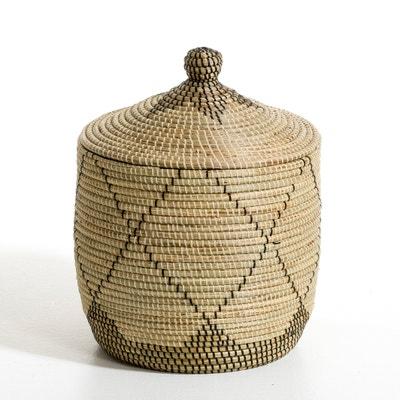 Small Louna Rice Straw Basket, Height 48cm Small Louna Rice Straw Basket, Height 48cm AM.PM