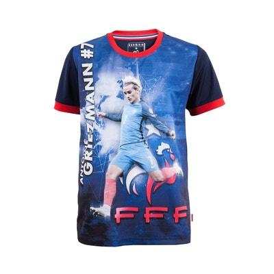 T-shirt FFF Griezmann Sublime Bleu Junior T-shirt FFF Griezmann Sublime Bleu Junior MADE IN SPORT