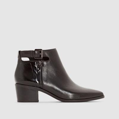 Lia Heeled Leather Boots GEOX