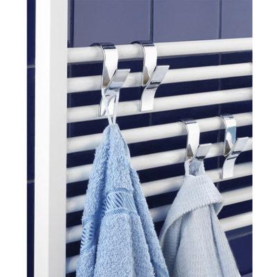 Crochets sèche serviettes, spécial radiateurs, lot de 4 La Redoute Interieurs
