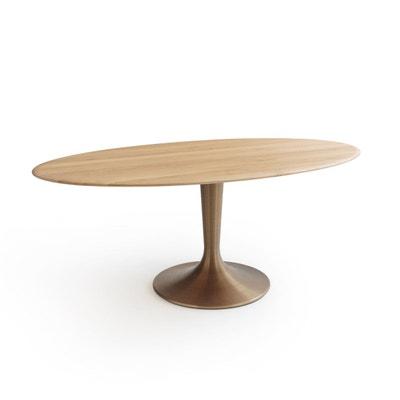 Plateau de table ellipse chêne massif, Hisia Plateau de table ellipse chêne massif, Hisia AM.PM