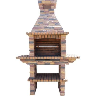 barbecue bois vertical en solde la redoute. Black Bedroom Furniture Sets. Home Design Ideas