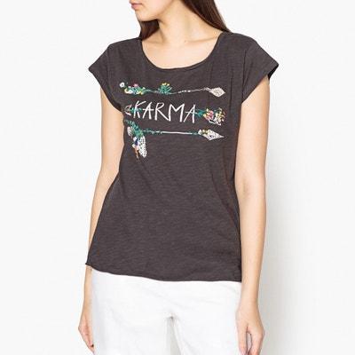 T-Shirt TAZA mit aufgestickten Motiven LEON and HARPER