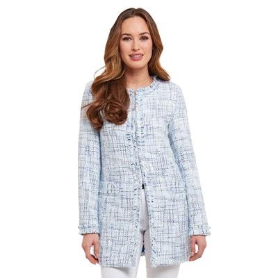 Élégant manteau en tweed sans col Joe Browns Femme JOE BROWNS be0aacad5d90