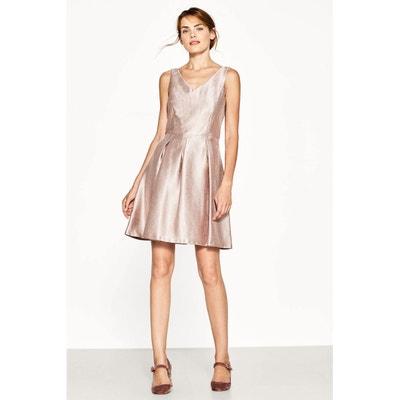 Ärmelloses, kurzes Kleid, ausgestellt ESPRIT