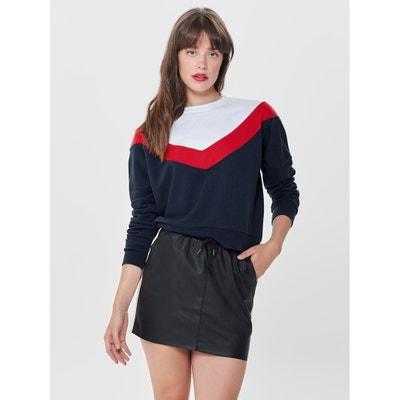 Sweatshirt mit rundem Ausschnitt Sweatshirt mit rundem Ausschnitt ONLY