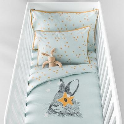 Copripiumone bébé, LAPIN, fantasia, in cotone. La Redoute Interieurs