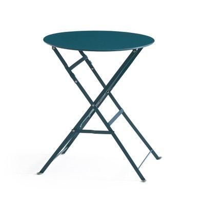 Tavolino, tavolo pieghevole in metallo OZEVAN Tavolino, tavolo pieghevole in metallo OZEVAN La Redoute Interieurs