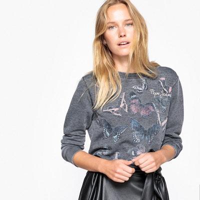 Butterfly Print Sweatshirt PEPE JEANS
