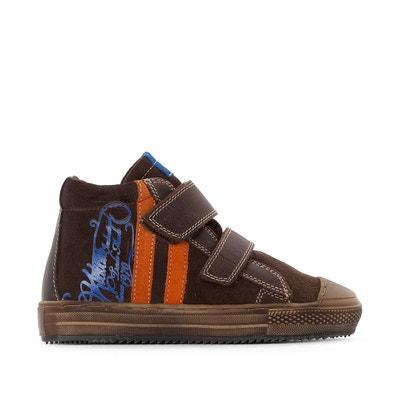 Wysokie buty sportowe ze skóry i z futerkiem Barcalo KICKERS