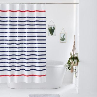 Rideau de douche à rayures MARINIÈRE Rideau de douche à rayures MARINIÈRE La Redoute Interieurs