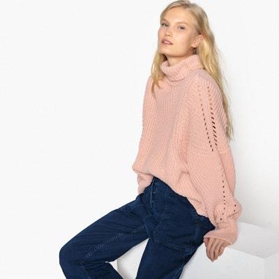 Pull dolcevita maglia grossa taglio ampio Pull dolcevita maglia grossa taglio ampio La Redoute Collections