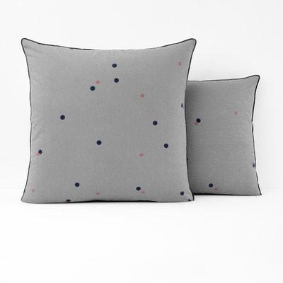 Funda de almohada estampada, retor lino y algodón AYANNA La Redoute Interieurs