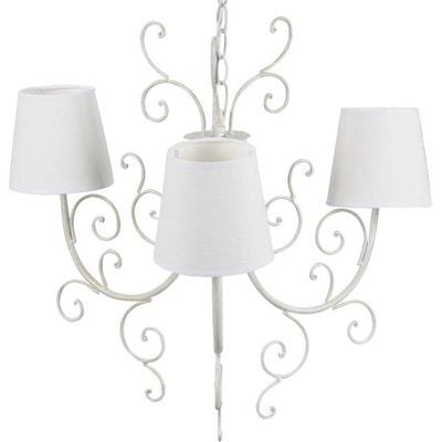 lustre 3 branches en solde la redoute. Black Bedroom Furniture Sets. Home Design Ideas
