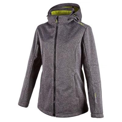 Veste zippée à capuche Softshell 3A22226 CMP
