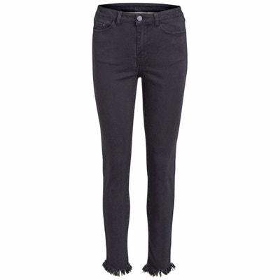 Frayed Skinny Jeans VILA