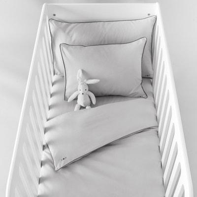 Capa de edredon para bebé, lisa, em algodão Capa de edredon para bebé, lisa, em algodão La Redoute Interieurs