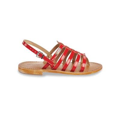 059bb2e51d699 Sandales rouges en solde   La Redoute