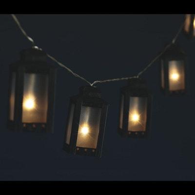 Guirlande lumineuse Noël Lanterne - L. 135 cm ATMOSPHERA