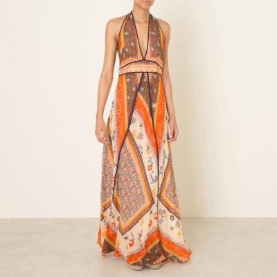 Romane Low-Cut Back Maxi Dress BA&SH