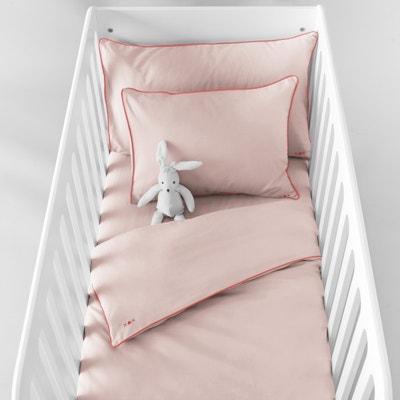Funda nórdica lisa para bebé bébé de algodón Funda nórdica lisa para bebé bébé de algodón La Redoute Interieurs