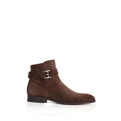 Heyraud Boot Sofy Noir - Livraison Gratuite avec  - Chaussures Bottine Femme
