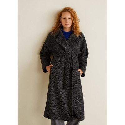 Manteau femme Mango en solde   La Redoute 4b13c04fa1ed