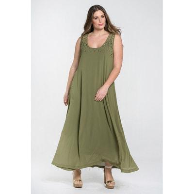 Ausgestelltes, ärmelloses Kleid MAT FASHION