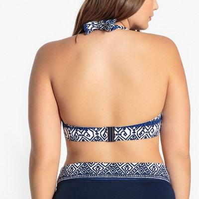 Bikini bovenstuk in bandeau model CASTALUNA