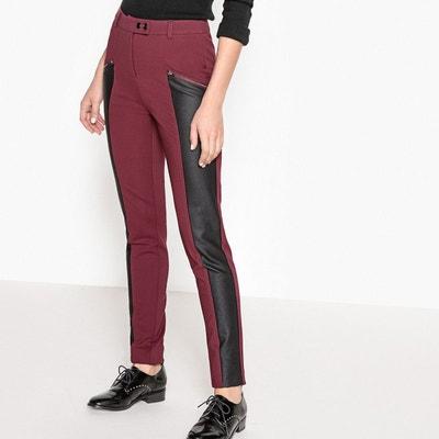 Simili Rouge La Solde Pantalon Cuir En Redoute 7Sqawgwx