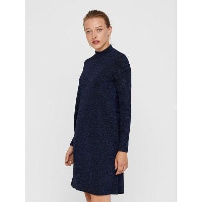Robe Bleu à paillettes YAS