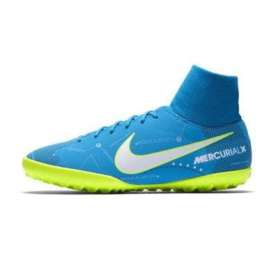 e12ca447819c6 Chaussures football Nike Neymar MercurialX Victory VI DF TF Bleu Junior Chaussures  football Nike Neymar MercurialX