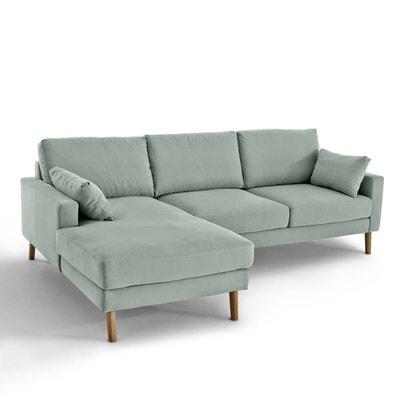 Canapé d'angle fixe Stockholm, coton confort Excel Canapé d'angle fixe Stockholm, coton confort Excel LA REDOUTE INTERIEURS