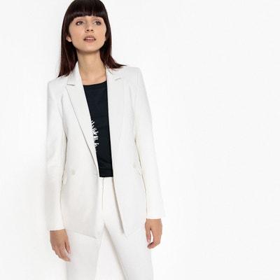 Veste blazer double boutonnage Veste blazer double boutonnage La Redoute  Collections 7ed561647970