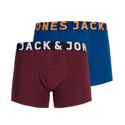 Boxer en coton stretch, lot de 2 Boxer en coton stretch, lot de 2 JACK & JONES