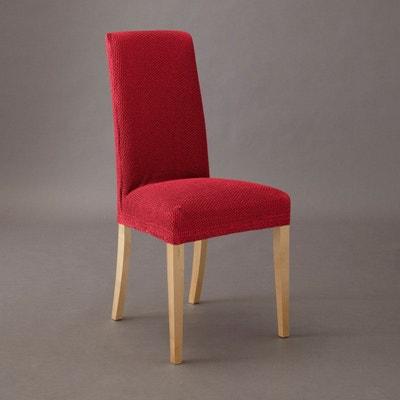 housse extensible pour chaise gaufre ahmis la redoute interieurs