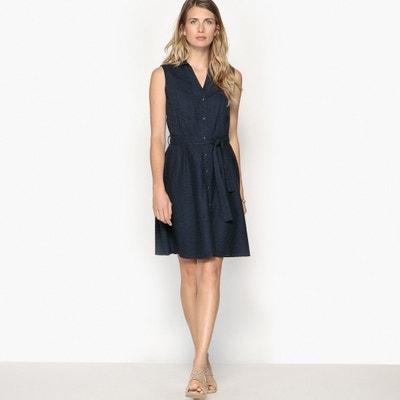 Kleid mit Lochstickerei, ärmellos ANNE WEYBURN